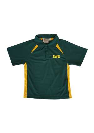South Wellington Int. School Polo Forest/Gold Kids